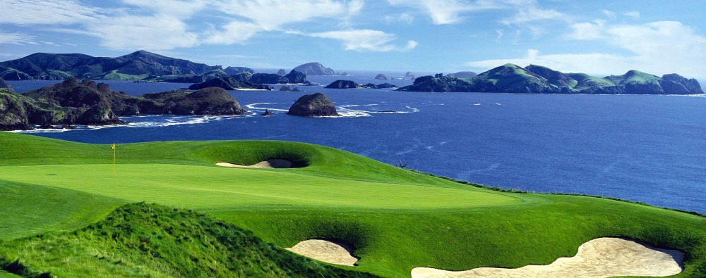Golf experience at Eagles Nest, Russell, Bay of Islands, New Zealand