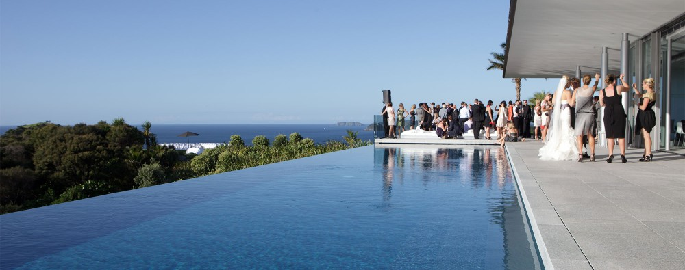 Wedding at Eagles Nest, Russell, Bay of Islands, New Zealand